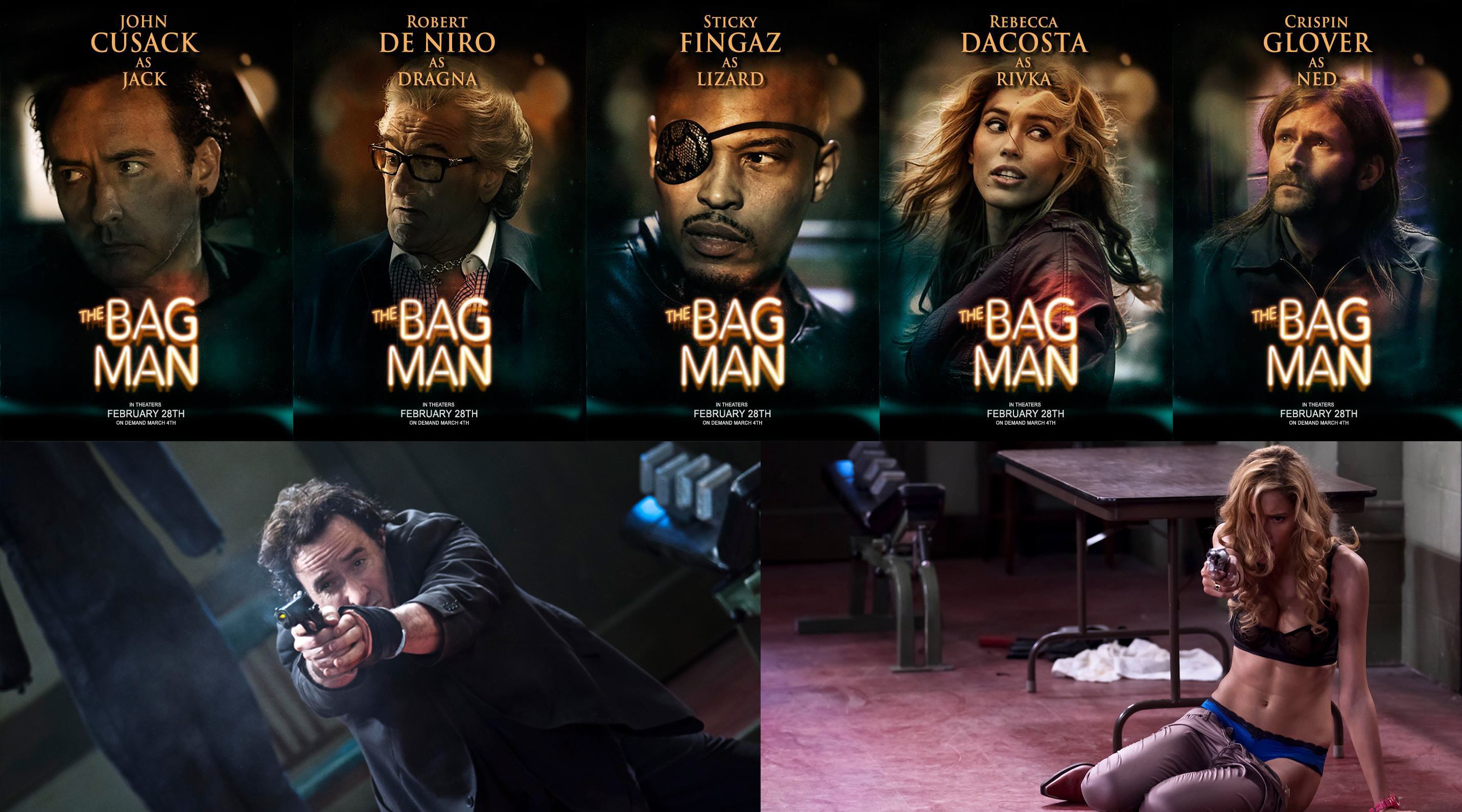 Share this The Bag Man Movie Poster