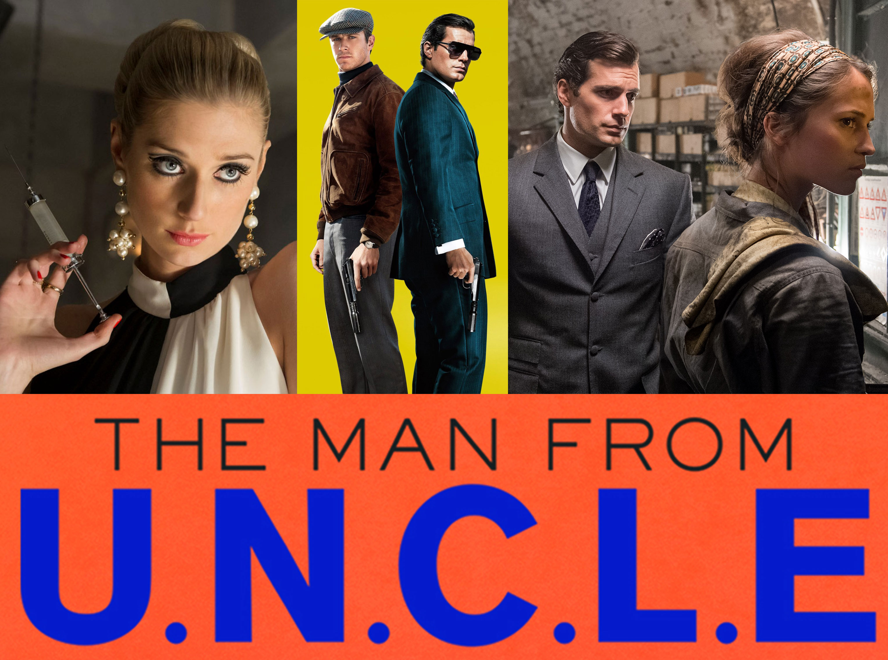 Man From U N C L E 2015 Movie Review Absolutebadasses