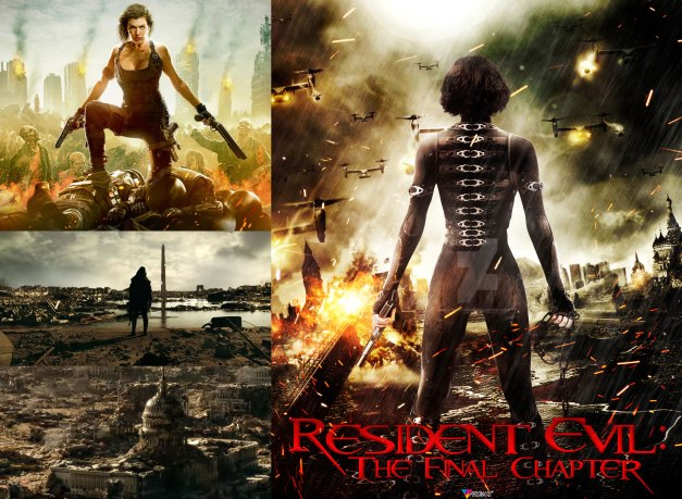 Resident Evil Movies Absolutebadasses